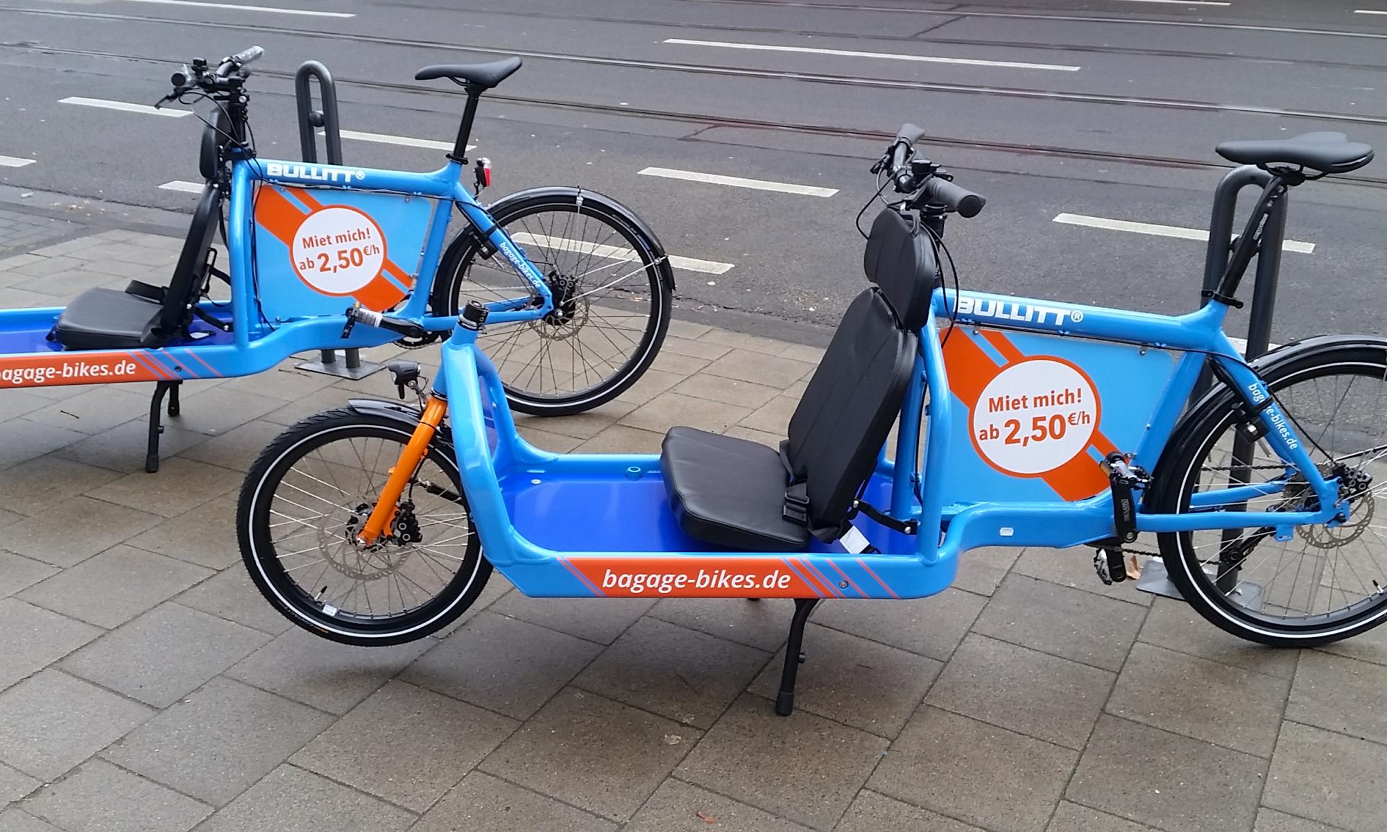 Lastenfahrrad-Vermietung in Köln